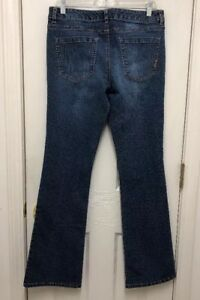 Daisy-Fuentes-Women-s-Bold-Look-Blue-Jeans-Size-10