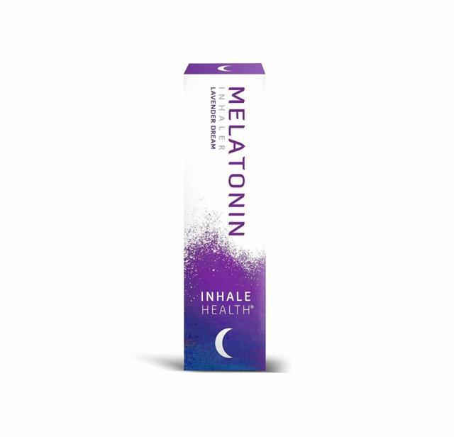 Inhale Health Melatonin Lavender Dream Inhaler - 40 mg for ...