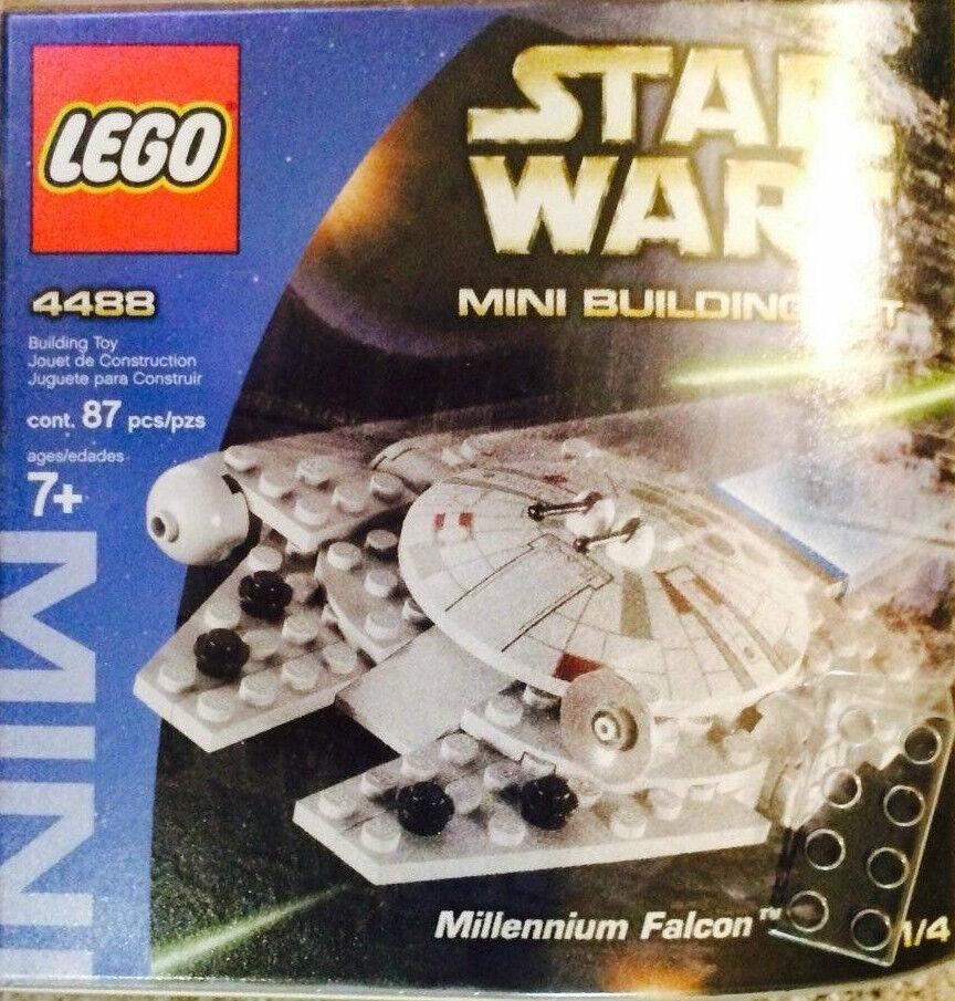 Lego Star Wars 4488 Mini Millennium Falcon Nuovo Sealed