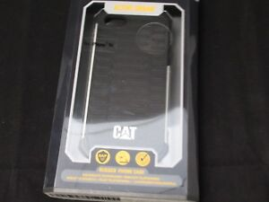 971ff84b115537 CAT Active Rugged Phone Case for Apple iPhone 5,5s,SE, Black Silver ...