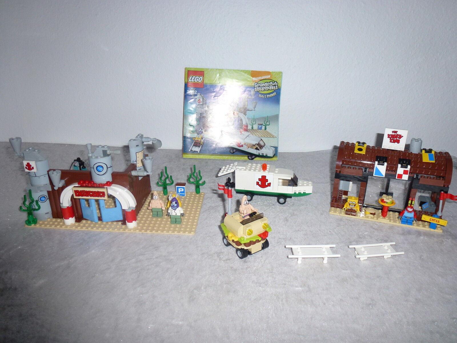 Lego Spongebob 3832+ uvm mit OBARarität aus dem Jahr 2008