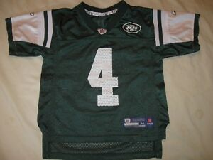 best cheap b94bc 30756 Details about Brett Favre New York Jets Jersey Youth Medium Boys NFL  Football NYJ
