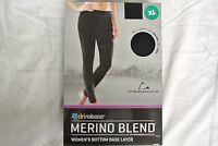 Paradox Merino Blend Women's Bottom Base Layer Black Sealed