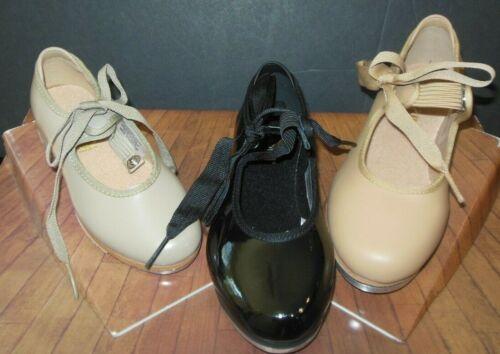 Tap Shoes Bloch S0350G /& S0350L  Annie tap shoes attached taps 3 Colors ch//adult