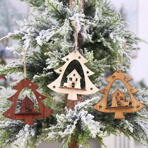 Christmas-Tree-Hanging-Crafts-Wooden-Ornaments-Decor-Home-Party-Decoration-Gifts