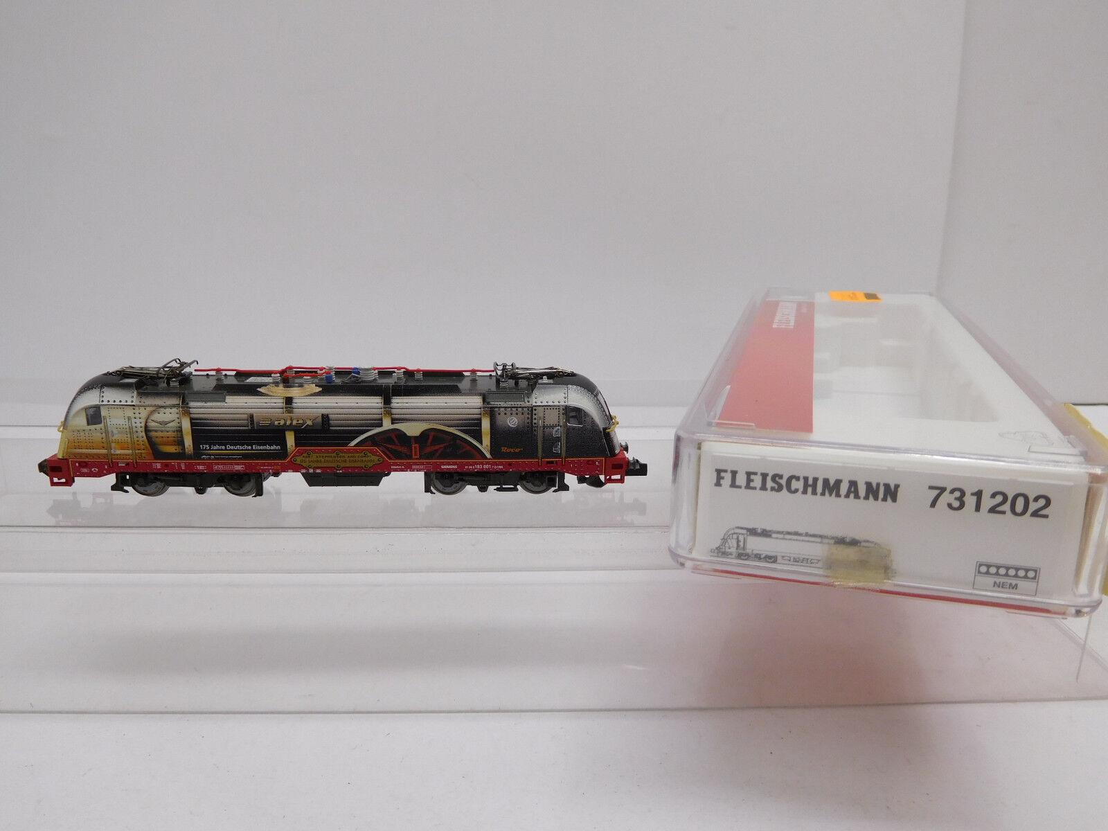 Eso-15177 Fleischmann 731202 Spur N Digital E-Lok BR 183 arriva con parte mancanti