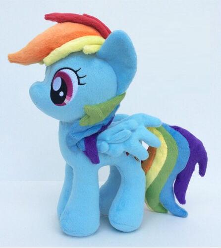 My Little Pony Pony Pony Rainbow Dash 11'' Plush w  Tags 4th Dimension Entertainment 4DE 5adeac