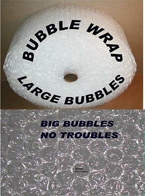 ~~~ BUBBLE WRAP - LARGE BUBBLES  25 METER LONG 300 MM WIDE  PICKUP OR WILL SH IP