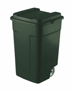 Rubbermaid-Roughneck-50-gal-Plastic-Wheeled-Garbage-Can-Lid-Included-Case-of-4