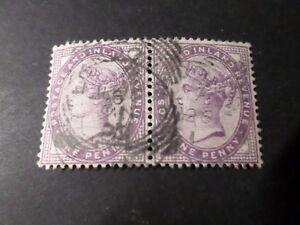 GB GRANDE BRETAGNE UK, timbre CLASSIQUE 73 en PAIRE, BEAU CACHET oblitéré, VF