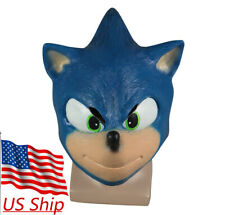 Sonic The Hedgehog Roleplaying Mask For Halloween For Sale Online Ebay