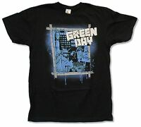 Green Day liberty Blk Slim T-shirt Official Adult 21st Century Breakdown