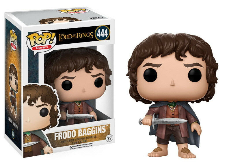 Funko Pop! Movies: The Lord of the Rings - Frodo Baggins Vinyl Figure (new)