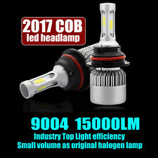 9004 HB1 LED 150W Light Headlight Kit 15000LM Hi/Low Beam White 6000K Bulbs Kit