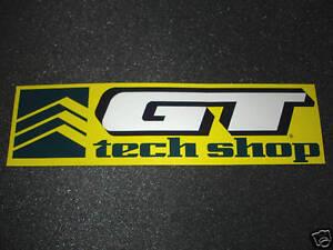 Details About 1 Authentic Gt Bicycles Tech Shop Authorized Dealer Sticker 5 Decal Aufkleber
