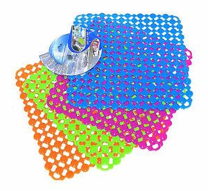 2er Set Antirutsch Einlage Gummimatte Küche Abwaschbecken Spülbecken Küchenspüle