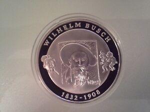10 Euro Münze 2007 Wilhelm Busch Pp Ebay
