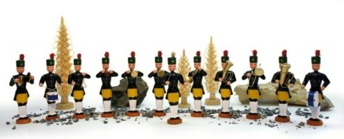 Bergmannskapelle Große Bergmannskapelle 12-teilig 9,5cm NEU Miniatur Erzgebirge