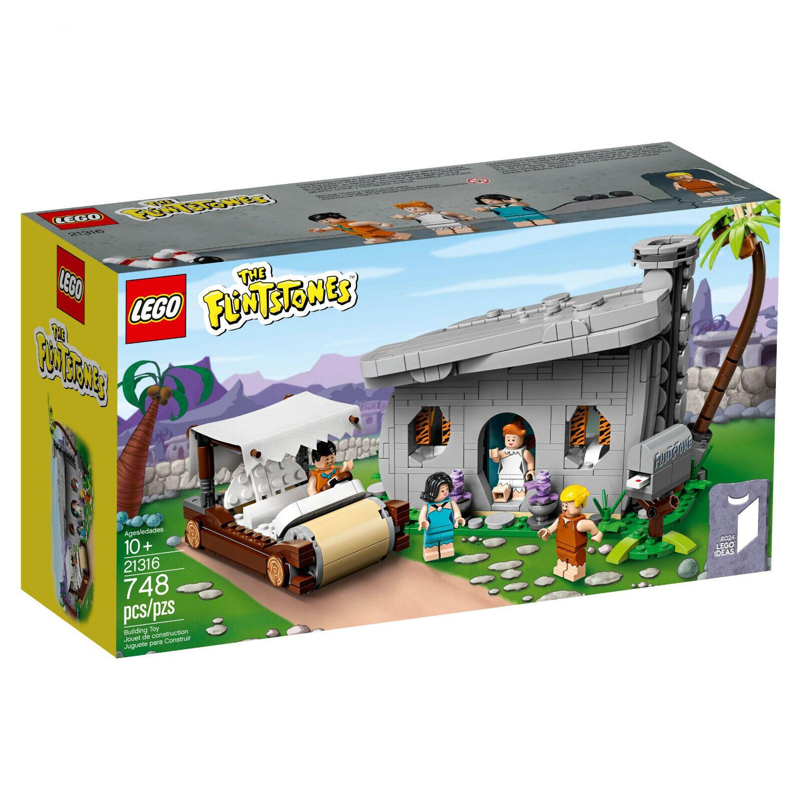 Lego ideas 21316 I the Flintstones i familia fuego piedra I nuevo & OVP i relámpago paquete