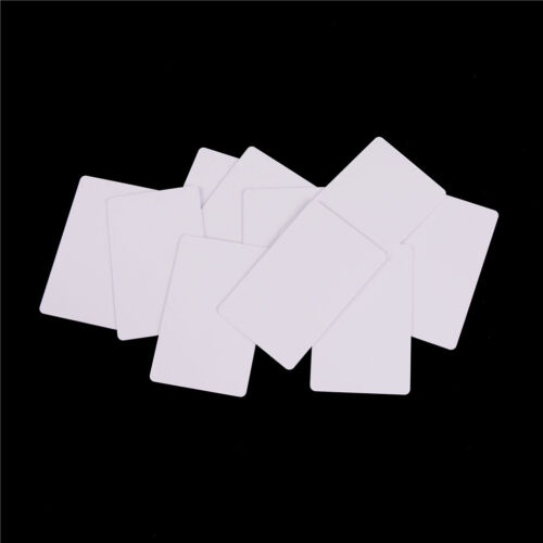 10X NTAG215 NFC Card 13.56MHz Smart Cards for All NFC Phone TagMo Switch TB