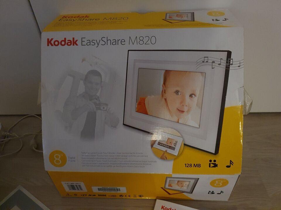 Digital photo rame, Kodak, EasyShare M820