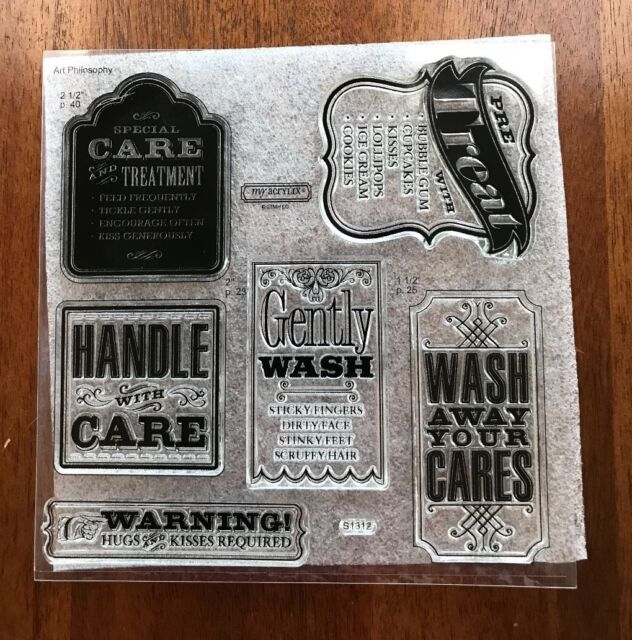 Close To My Heart ~ SPECIAL CARE ~  S1312 - Acrylic Stamp Set