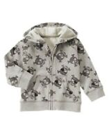Gymboree Gray Skull & Crossbones Pirate Jacket Infant Baby Boy 12-24 Months