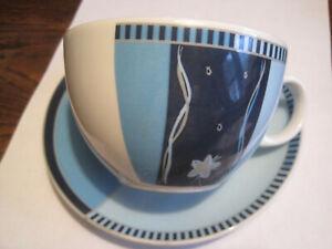 Seltmann Weiden more Cornelia Blue Line 28460 Saucer 14 5 cm