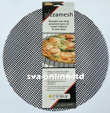 BLACK MESH PIZZA FORNO fogli / Vassoio di cottura per Crispy PIZZA basi