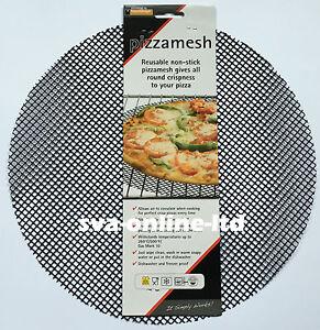 PIZZAMESH BLACK FOR EASY COOK CRISPY OVEN PIZZAS LARGE SIZE 36CM D