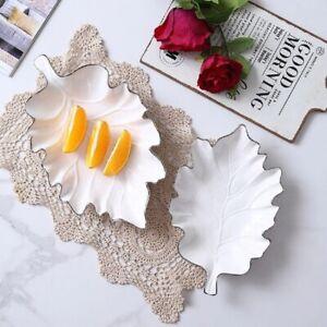 Zellerfeld Premium Design Snack Dish Knabberschale Porcelain, White