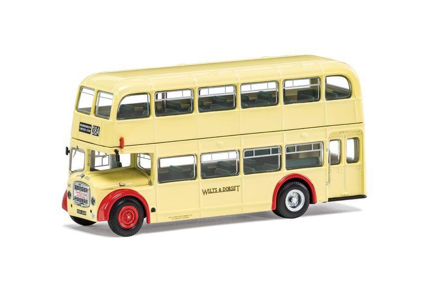 Bristol lodekka fs6b wilts and dorset 38a Salisbury Limited stop 1 76 model