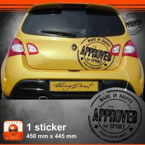 Sticker Renault Twingo RS tuning sport aufkleber adesivi pegatina decal 101