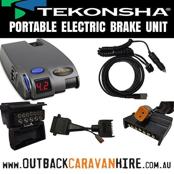 Portable Electric Brake Controller - (Plug & Play)