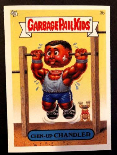 Topps Garbage Pail Kids 2005 GPK ANS 4 #3b Chin-Up CHANDLER NrMint-Mint