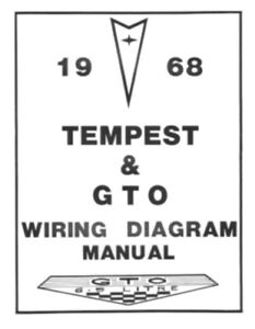 details about pontiac 1968 tempest \u0026 gto wiring diagram 68 68 gto wiring diagram catalogue of