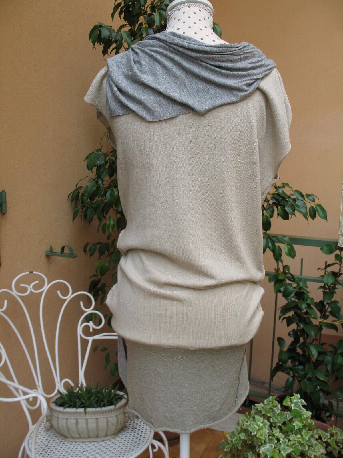 Dub qnp maxi maglia vestito stile stile stile dondup tg. 42 - 44 0df1a6