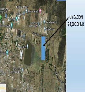 Terreno de 34,000 m2 en Libramiento Fray Junipero entre Juriquilla y el Refugio, frente 100 metros