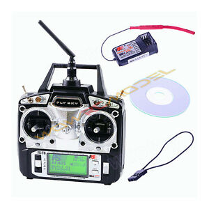 flysky fs t6 6ch w lcd screen transmitter fs r6b receiver for heli plane ebay. Black Bedroom Furniture Sets. Home Design Ideas