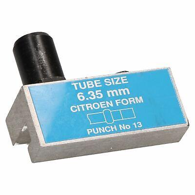 Citroen 2CV DS HY Van 6.35mm Brake Pipe Flaring Punch /& Die For Hydraulic Lines