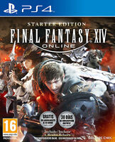 Final Fantasy Xiv Online Starter Edition Ps4 Playstation 4 It Import Square Enix