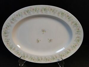 Johann Haviland Bavaria Forever Spring Large Oval Serving Platter 13""