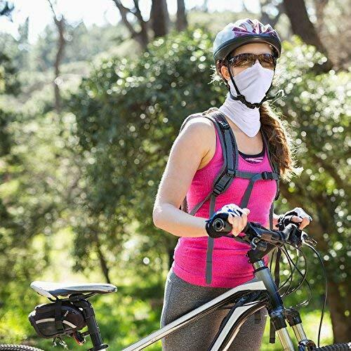Summer Face Cover Anti UV Wind Bandana Headband Neck Gaiter for Outdoor Sport