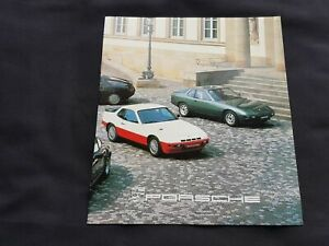 japanese-language-Porsche-924-Turbo-911SC-911Turbo-928-Prospekt-Brochure