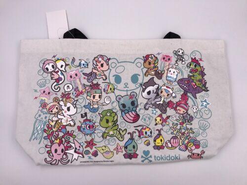 SDCC 2017 Tokidoki Sea Punk Canvas Tote Bag A6
