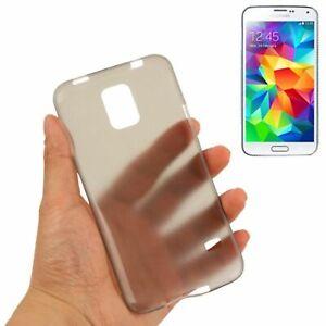 Étui de Protection Très Fin 0,3mm pour Portable Samsung Galaxy S5 Neo Gris Neuf