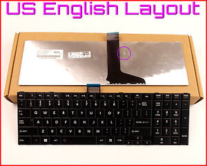 New Laptop US Keyboard for Toshiba Satellite L875D-S7232 L875D-S7210