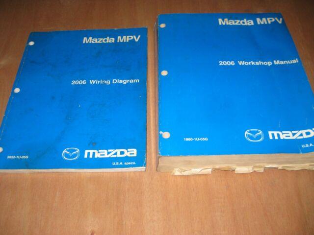 Mazda Mpv 2006 Dealer Workshop Manual And Wiring Diagrams