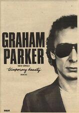 6/3/82Pgn41 Advert: Graham Parker New Single temporary Beauty 10x7