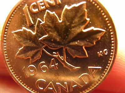 Canada 1964 Five Cents Proof Like Gem!!